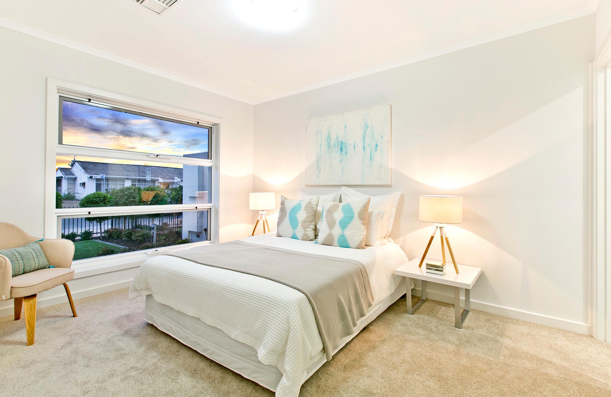Bray Street Plympton Park bedroom