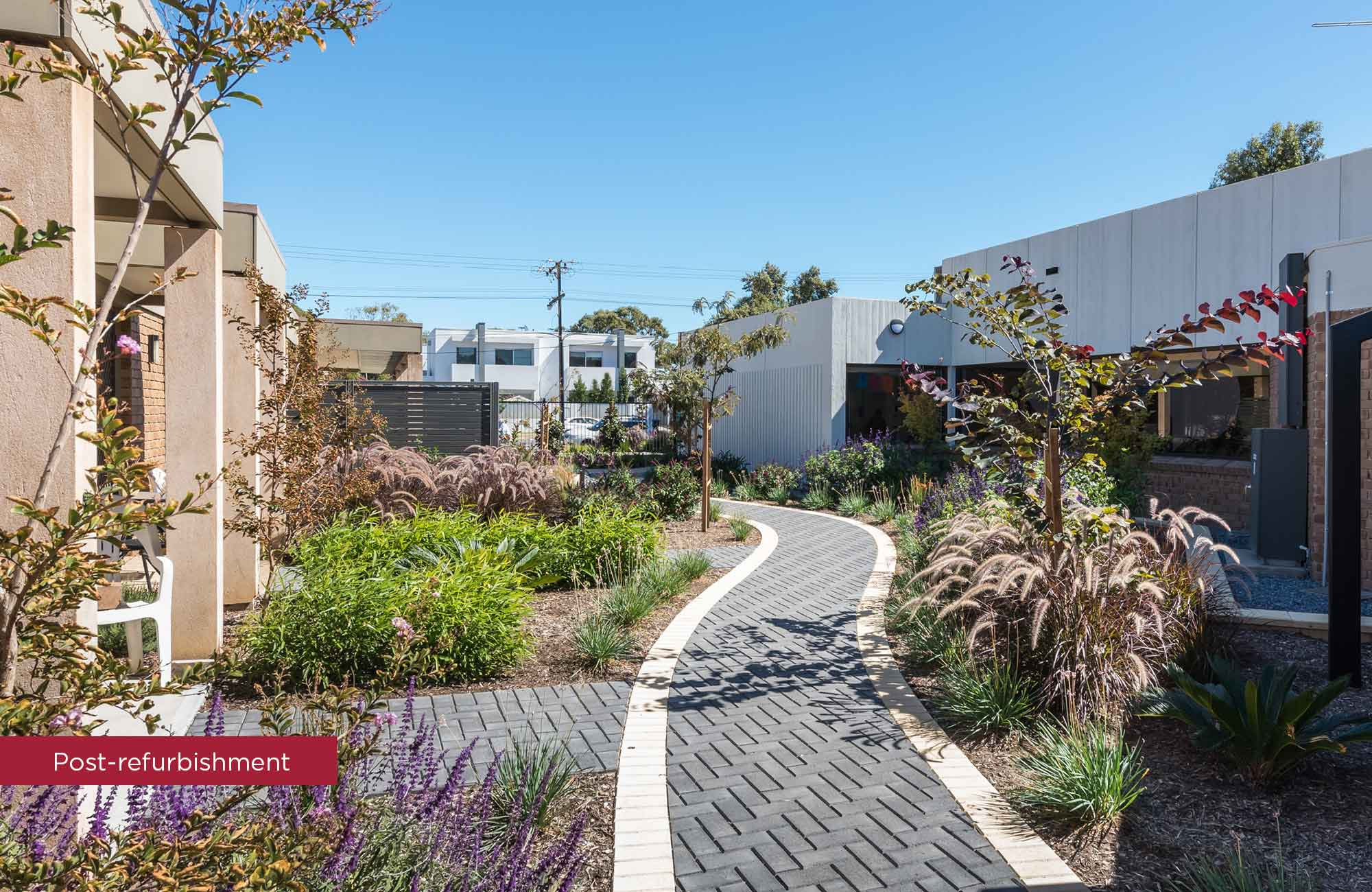 Cudmore Terrace walkway