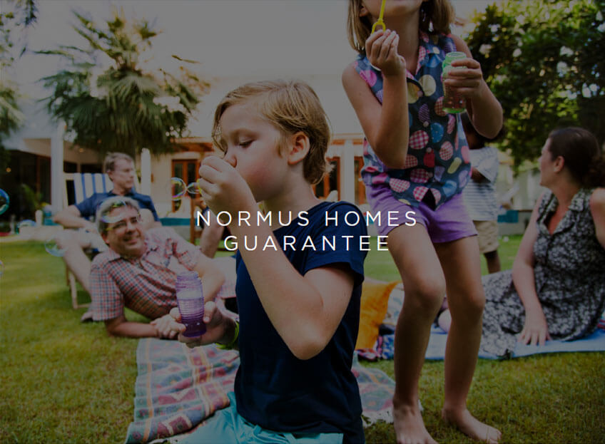 Normus Homes Structural Guarantee