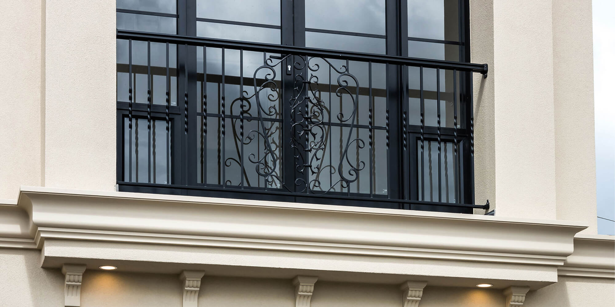 Wrought Iron Architectural Detail Normus Homes
