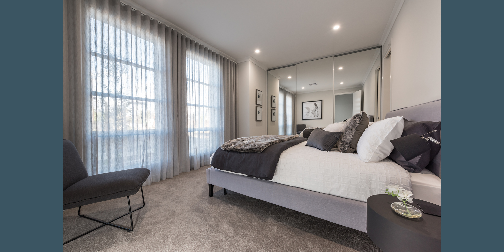 Custom Interior Design Bedroom Glengowrie Normus Homes