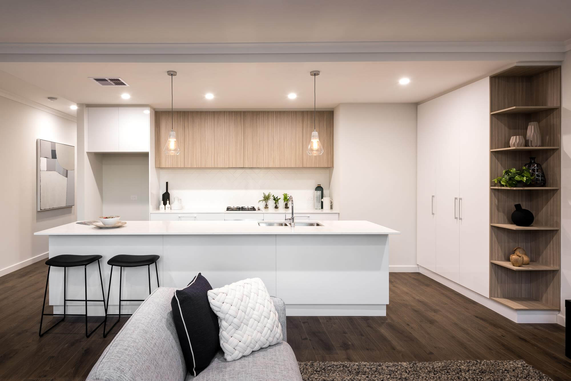 Open Plan Living Normus Homes