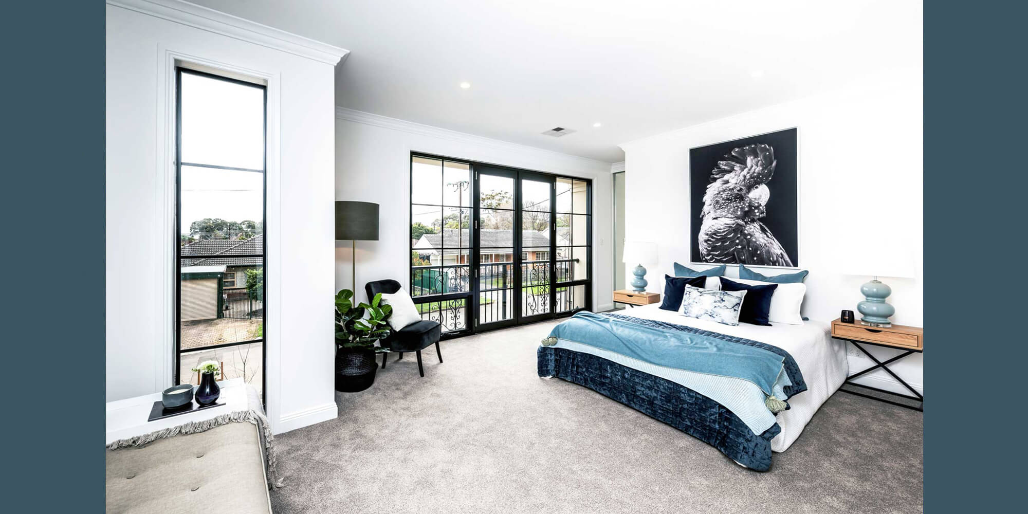 Normus Homes Custom Home Bedroom Magill