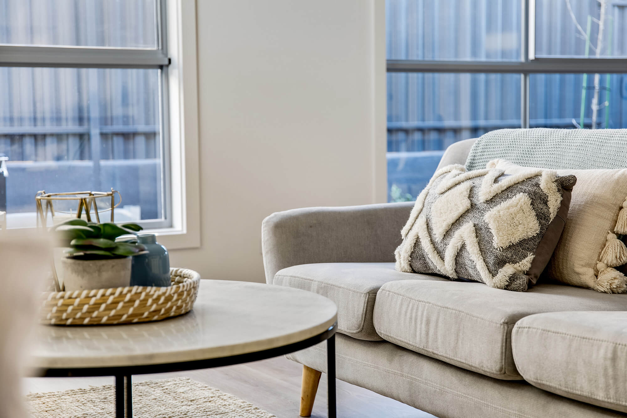 Normus Homes Thistle Avenue Klemzig Living Interior Styling