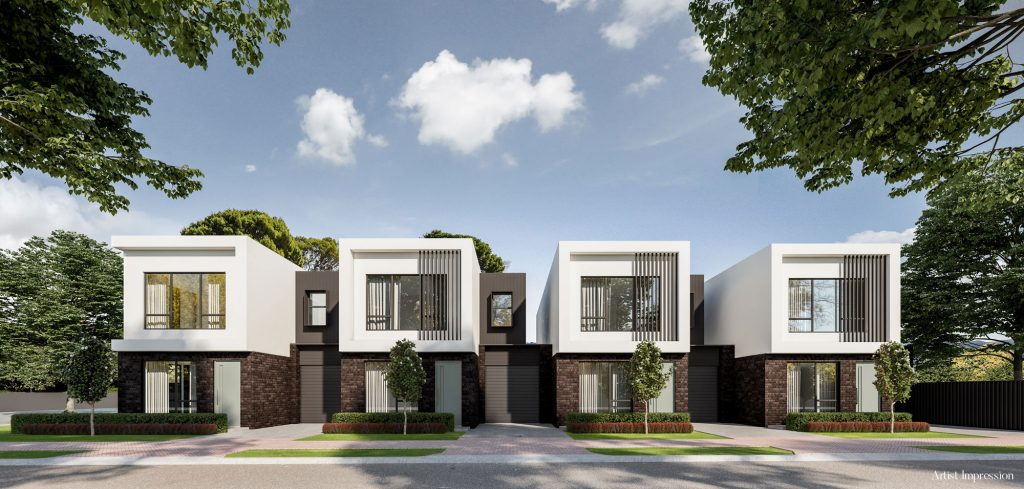 Normus Homes Botanic Grove artist impression