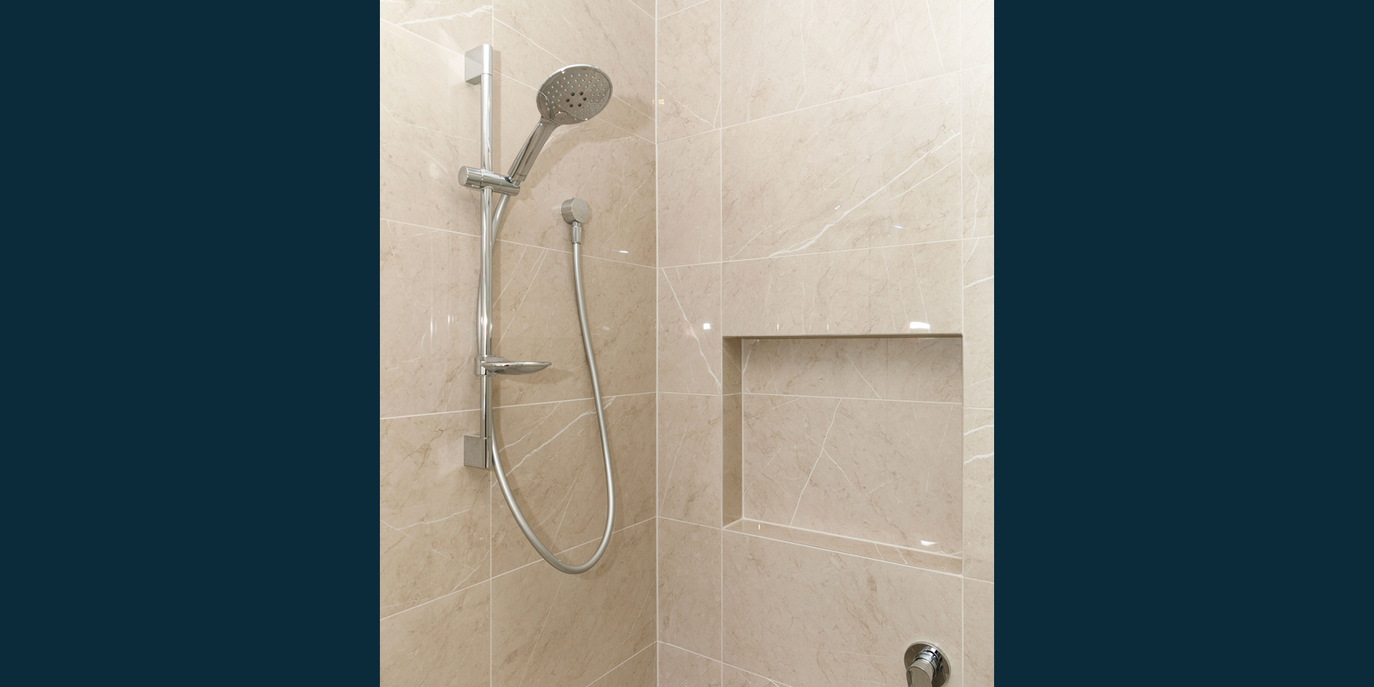 Normus Homes shower detail