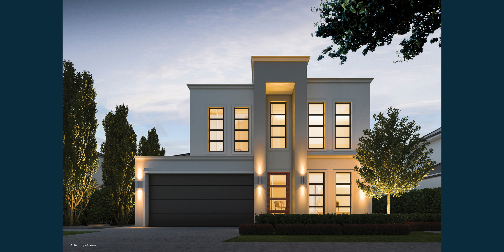 Normus Homes Facade Artists Impression