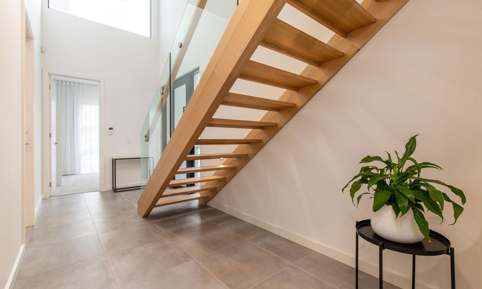 Somerton Park staircase Normus Homes