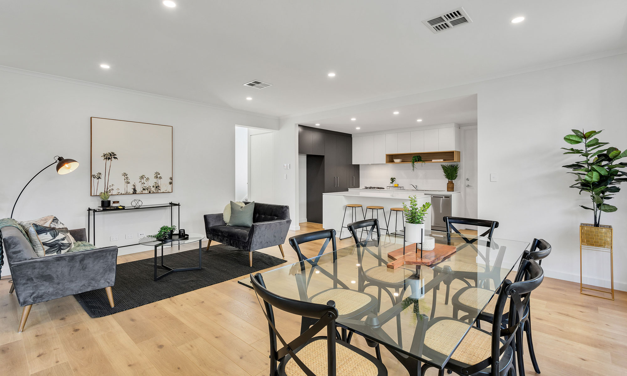 Normus Homes Somerton Park open dining area