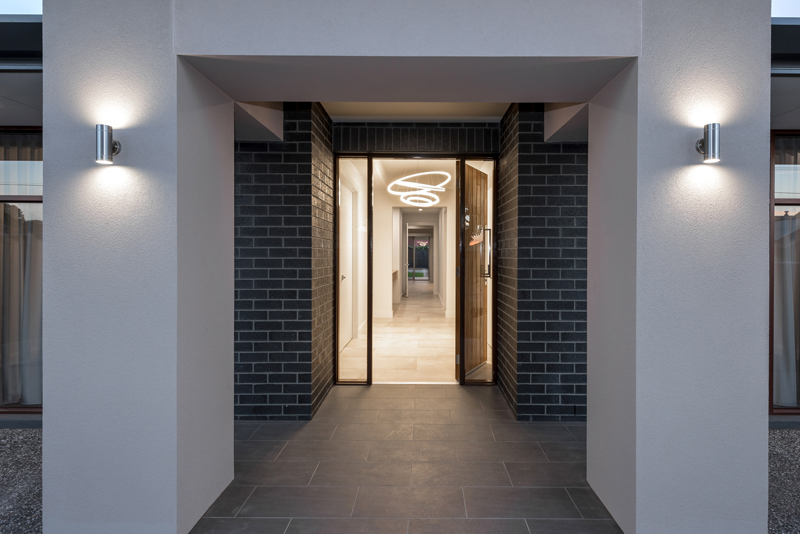 Normus Homes - Lasscock Entrance