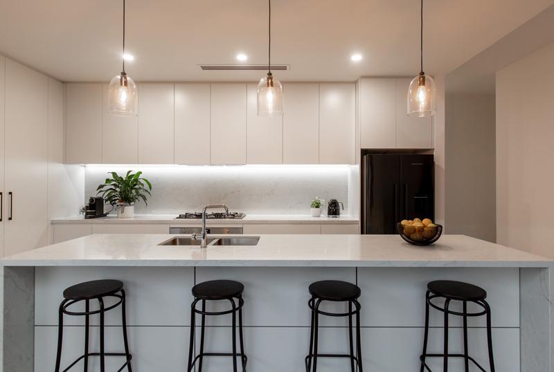 Normus Homes - Marine II Kitchen Lights