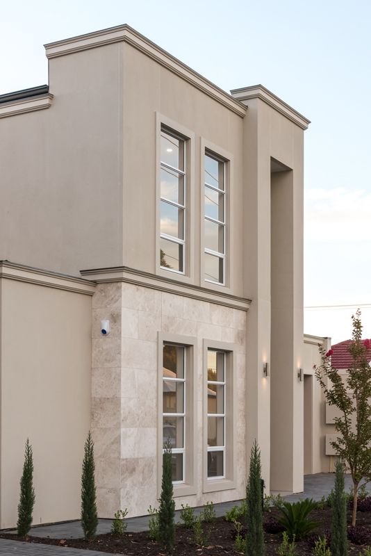 Normus Homes - Rosslyn Exterior Architectural Detail