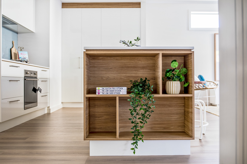Normus Homes - Thistle Bookcase Detail