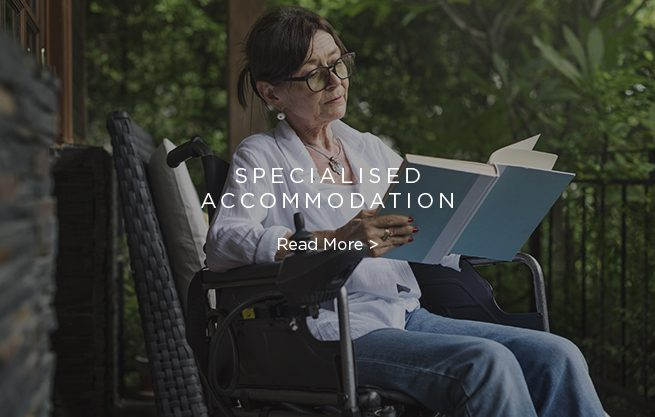 Normus Urban Projects specialises in the design and construction of accommodation to suit disabilities or mobility and aged care